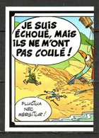 IM431 : Panini Carrefour Asterix 60 Ans / N°111 Bateau Pirate 1/2 - Panini