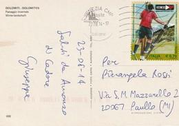 SCOUT AGESCI 40° ANNIVERSARIO DELLA FONDAZIONE ANNO 2014 - 6. 1946-.. Repubblica