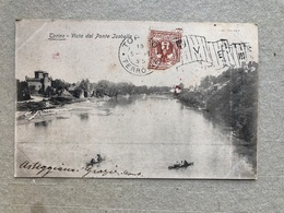 TORINO VISTA DAL PONTE ISABELLA   1902 - Bridges