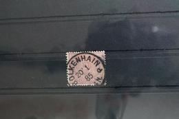 Deutsches Reich 37c Gestempelt Geprüft Wiegand BPP #SS739 - Ohne Zuordnung