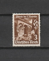 DR - TIMBRE POSTE - 1935 - MI : 598  - NEUF(*) - VOIR DESCRIPTIF - Allemagne