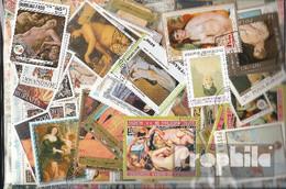 Motive Briefmarken-300 Verschiedene Akte Marken - Briefmarken