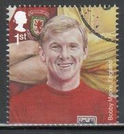 Great Britain 2013 Single  Stamp From Famous Footballers Set. - 1952-.... (Elizabeth II)