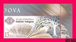 MOLDOVA 2019 International Year Of Indigenous Languages 1v Sc1036 Mi1101 MNH - Moldova