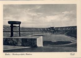 ALEMANIA , TARJETA POSTAL SIN CIRCULAR - BERLIN , REICHSSPORTFELD , STADION - Estadios