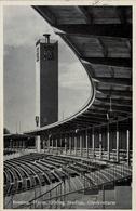 ALEMANIA , TARJETA POSTAL SIN CIRCULAR - BRESLAU , HERM. GÖRING STADION , GLOCKENTURM - Estadios