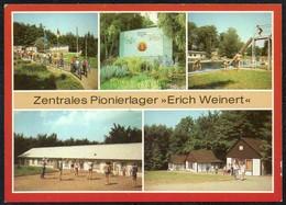 C5982 - TOP Friedrichsbrunn - Zentrales Pionierlager Erich Weinert - Junge Pioniere Thälmann Propaganda - Thale