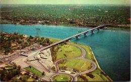 New York Buffalo Aerial View Of Peace Bridge - Buffalo