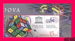 MOLDOVA 2019 UNESCO International Year Of Periodic Table Of Chemical Elements By Mendeleyev 1v Sc1037 Mi1102 MNH - Chemistry