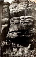 New York Olean Rock City Park Sentinel Rock On Lower Trail Real Photo - Other