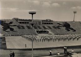 ALEMANIA , TARJETA POSTAL SIN CIRCULAR, LEIPZIG , STADION DER HUNDERTTAUSEND - Estadios