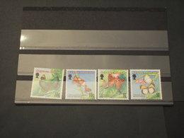 CAYMAN - 1994 FARFALLE  4 VALORI - NUOVI(++) - Cayman (Isole)
