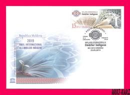 MOLDOVA 2019 International Year Of Indigenous Languages Sc1036 Mi1101 FDC - Languages
