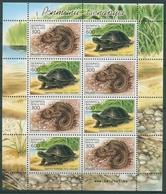 Weißrussland 2003 Reptilien Sumpfschildkröte 481/82 K Postfrisch (C28373) - Belarus