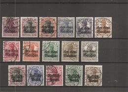 Allemagne - Gouvernement Général De Pologne ( 1/16 Oblitérés ) - Occupation 1914-18