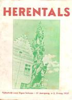 Boekje Herentals Tijdschrift Voor Eigen Schoon 3de Jaargang N°2 Aug 1937 - Herentals