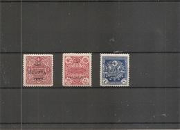 Turquie ( 640/642 X -MH) - 1921-... Republiek