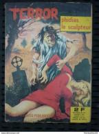 Terror N°2: Phidias Le Sculpteur/ Editions Elvifrance, 1971 - Small Size