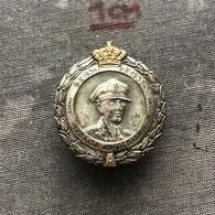 Badge Pin ZN008446 - Yugoslavia Serbia King Aleksandar Karadjordjevic 1935 - Army