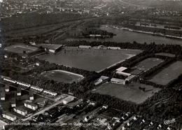1958 ALEMANIA , TARJETA POSTAL CIRCULADA, DUISBURG - DUISBURGER SPORTPARK , ESTADIO , STADION , STADIUM - Estadios