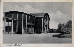 ALEMANIA , TARJETA POSTAL CIRCULADA, KALISCH - STADION - Estadios