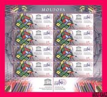 MOLDOVA 2019 UNESCO International Year Of Periodic Table Of Chemical Elements By Mendeleyev M-s Sc1037 Mi Klb.1102 MNH - Chemistry