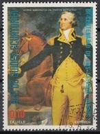 "Guinea Equatoriale 1976 Sc. 7562 ""General George Washington At Trenton"" Quadro Dipinto Trumbull - CTO Equatorial - Indipendenza Stati Uniti"