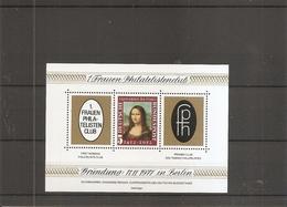Allemagne - Timbres Sur Timbres - Joconde ( BF Privé XXX -MNH- De 1977 ) - [7] République Fédérale