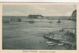 MONTE DI PROCIDA - ACQUAMORTA E SILURIPEDIO - Napoli (Naples)