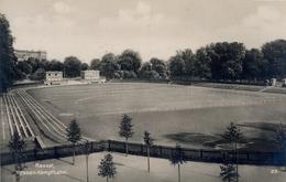 1928 ALEMANIA , TARJETA POSTAL CIRCULADA, KASSEL HESSEN - KAMPFBAHN,  STADION , ESTADIO , STADIUM - Estadios