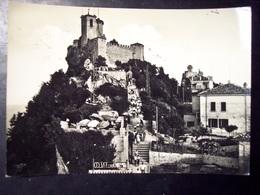 San Marino: La Rocca. Cartolina B/n FG Vg 1952 - San Marino