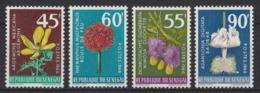 1966 Senegal Fiori Blumen Flowers Fleurs MNH** Fio226 - Flora