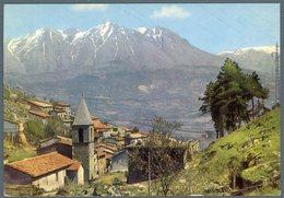 °°° Cartolina N. 42 Tagliacozzo Chiesa Del Soccorsoe Monte Velino Viaggiata  °°° - L'Aquila