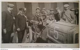 1904 COUPE GORDON BENNETT - MAZAGRAN - VILLERS LE TOURNEUR - MICHELIN - TREGUIER - ARRAS - COLONEL MARCHAND -FONTSÉGUGNE - Livres, BD, Revues