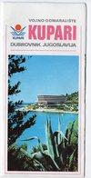 1970s YUGOSLAVIA, CROATIA, DUBROVNIK, KUPARI - Tourism Brochures