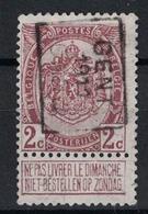 2c Preo 1709B Gent 1911 Gand - Vorfrankiert