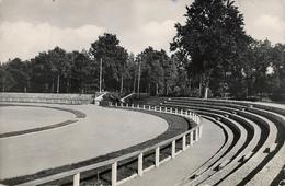 1961 ALEMANIA , TARJETA POSTAL CIRCULADA, TORGELOW STADION , ESTADIO , STADIUM - Estadios