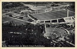 1938 ALEMANIA , TARJETA POSTAL CIRCULADA, BERLIN STADION , ESTADIO , STADIUM - Estadios