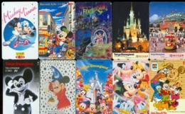 10 Télécartes Différentes DISNEY JAPAN (LOT 14)  10 DIFFERENT PHONECARDS DISNEY  * 10 VERSCHIEDENE TELEFONKARTEN DISNEY - Disney