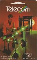 TARJETA TELEFONICA DE NUEVA ZELANDA, Physics (ESPI Laser Method). G-083. (077) - Nueva Zelanda