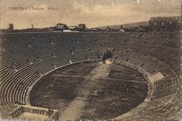 ITALIA , TARJETA POSTAL SIN CIRCULAR , VERONA - INTERNO ARENA - Estadios