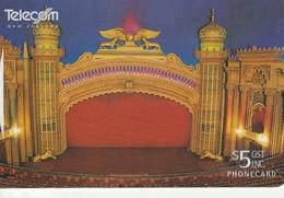 TARJETA TELEFONICA DE NUEVA ZELANDA, Auckland's Opulent Civic Theatre. G-166. (078) - Neuseeland