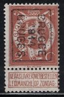 2c Preo 2342B Brugge 1914 Bruges - Vorfrankiert