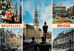 CPM - BRUXELLES - BRUSSEL - Panoramische Zichten, Meerdere Zichten
