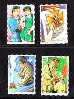 Malta - 1993. Anniversario Dello Scoutismo Femminile. Complete MNH Series - Nuovi