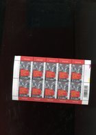 Belgie 2003 Nr 3160 University Mons  Volledig Vel Plaatnummer 1 - Feuillets