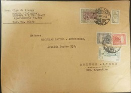 O) 1948 COLOMBIA, HIGH VALUES, SIMON BOLIVAR, DEATH OF BOLIVAR, ARCHEOLOGY -PRE - COLUMBIAN, FROM BOGOTA TO ARGENTINA - Colombia