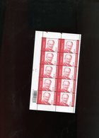 Belgie 2004 Nr 3132 Albert II Monarchie Volledig Vel Plaatnummer 2 - Feuillets