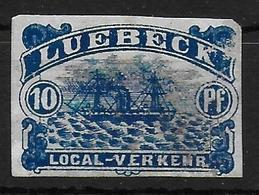 Lubeck Local Verkehr Sailship - Ships