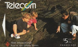 TARJETA TELEFONICA DE NUEVA ZELANDA, Families Valuing Learning. NZ-G-086. (082) - Neuseeland